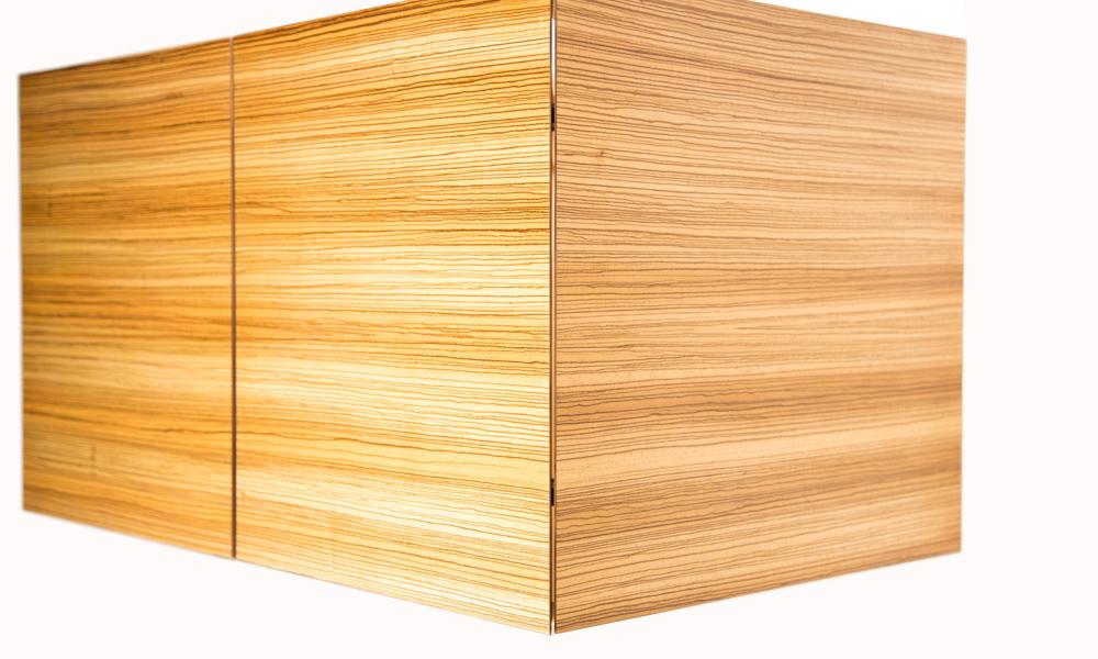 Jason Straw Woodworker Zebra Wood Vanity