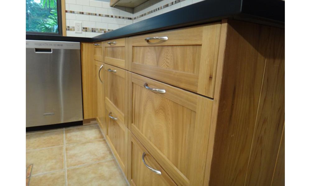 Sinker Cypress Kitchen Cabinets