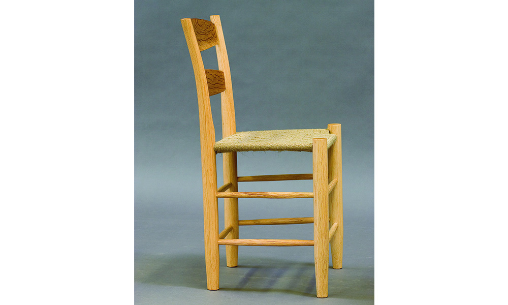 back itm chair ladder chairs ladderback ebay rustic product english farmhouse set diners oak kitchen