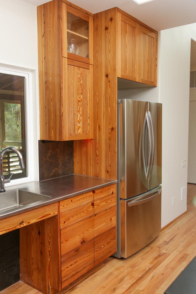 Contemporary Rustic Cabinets