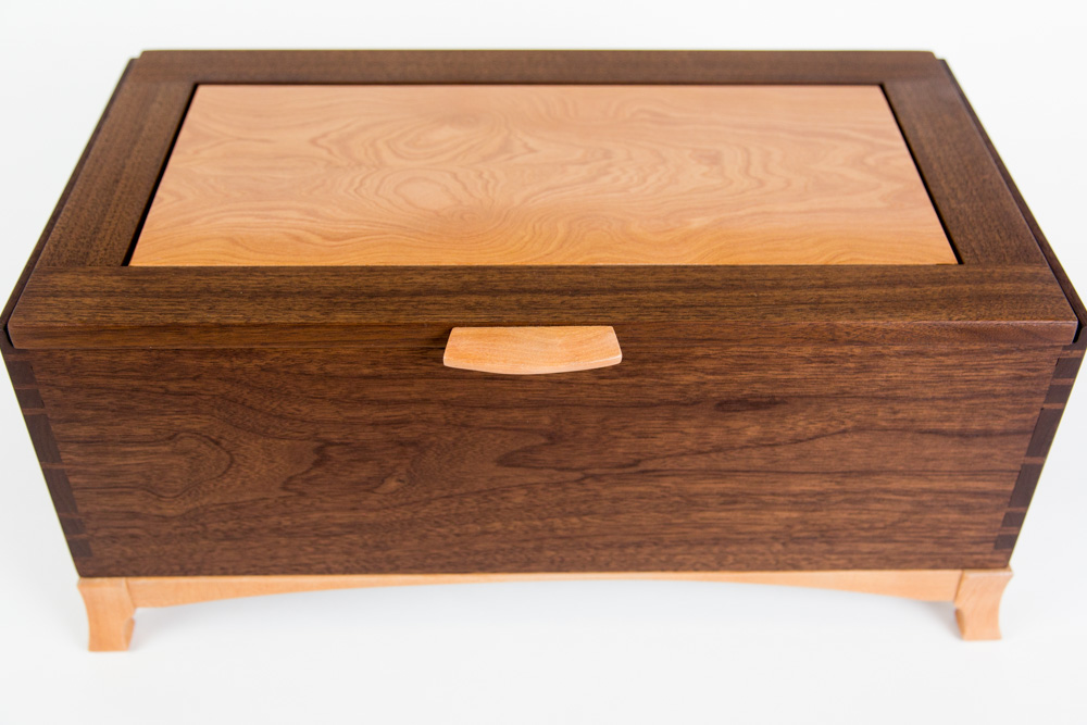 Jason Straw Woodworker Custom Jewelry Box