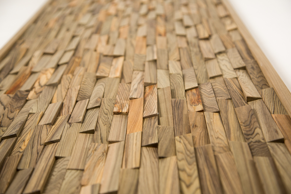 Jason straw woodworker dimensional wall panels and head for Cypress siding cost
