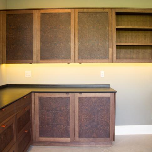 Jason Straw Woodworker Black Walnut Office Furniture