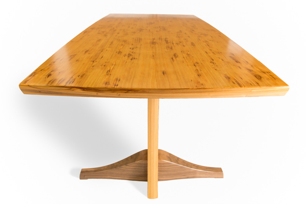 jason straw woodworker tracy cypress table. Black Bedroom Furniture Sets. Home Design Ideas