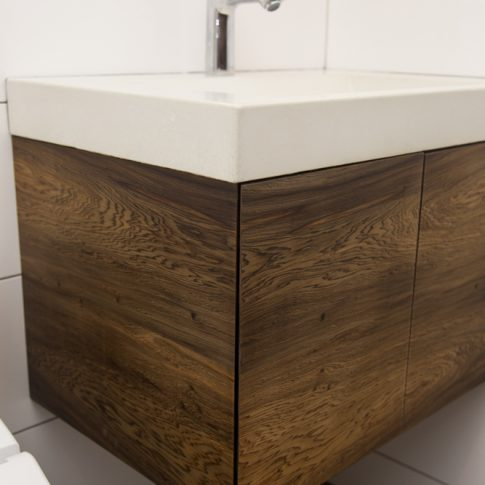 The Concrete Sink Was Custom Made By Beton Studios In St. Pete.. We Design,  Build And Install Custom Bathroom Vanities Throughout Florida.
