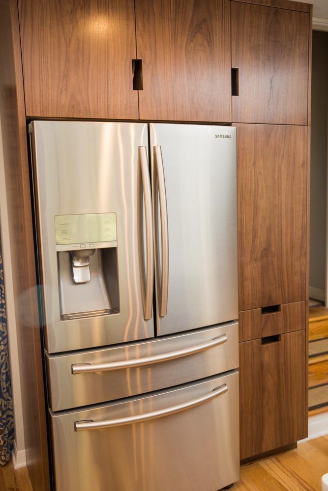 kitchen walnut cabinet cabinets dark veneer l photos oak