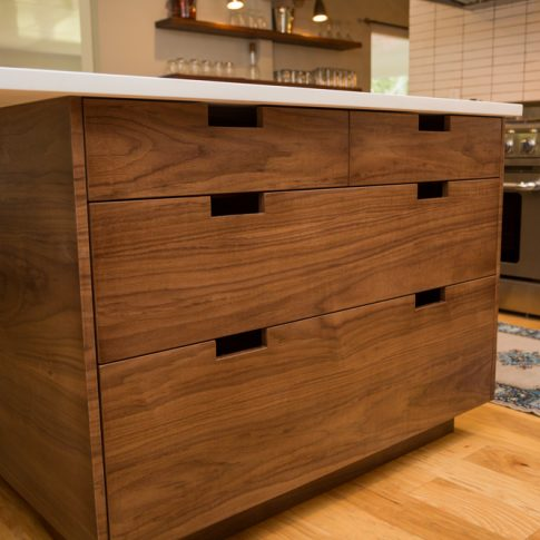 Walnut Cabinets Kitchen Jason Straw Woodworker Modern Walnut Kitchen  Cabinets