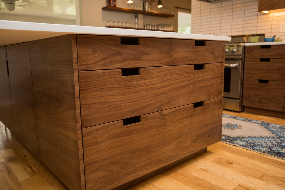 cabinetry crafted the in and cabinets provide extra walnut cabinet newwoodworks this claro bench storage of space custom