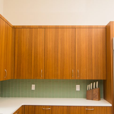 Jason straw woodworker portfolio categories kitchen cabinets for Modern teak kitchen cabinets