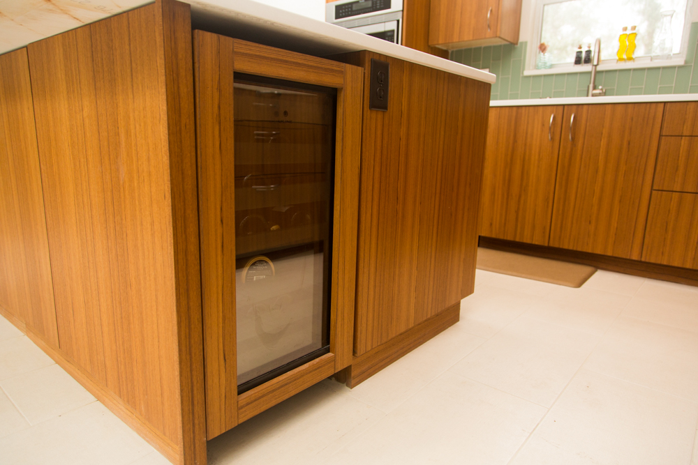 Jason straw woodworker teak kitchen cabinets