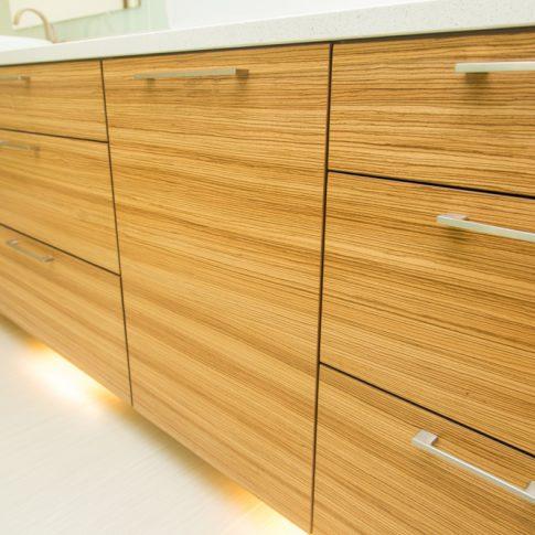 Bathroom Vanity Zebra Wood jason straw woodworker | portfolio categories bathroom cabinets