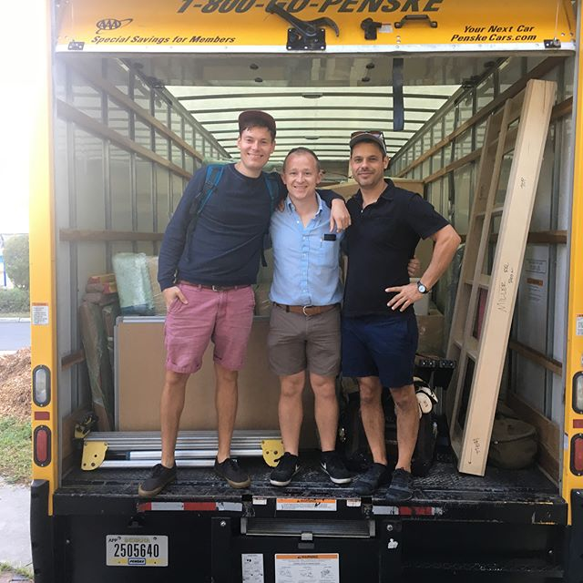 We filled a 26' box truck full of cabinets and are currently in route to #naples. We have been preparing for jobs like these for years. The crew, the tools, and the know how. @theconcretelife