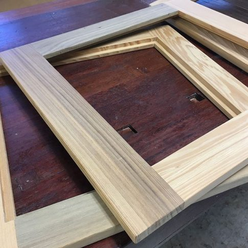 We Debated Using Maple Or Salvaged Cypress For The Glass Doors. We Have A  Bunch Of Shorts So The Cost Is The Same. The Doors Are 8u0027 Above The Floor  So The ...